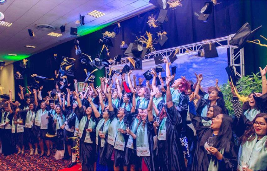 Uitreiking diploma's