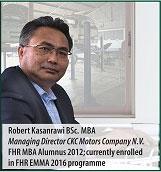 Robert Kasanrawi MBA