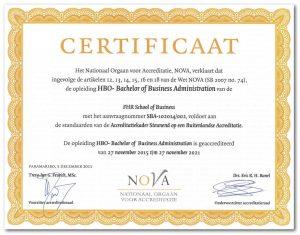 Het Nationaal Orgaan voor Accreditatie