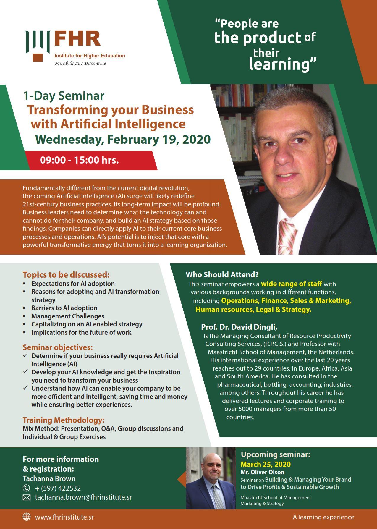 seminar FHR
